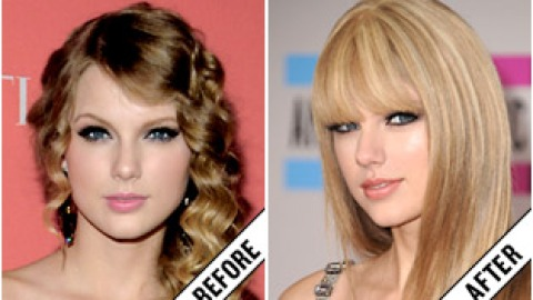The Makeover Poll: Taylor Swift's Straight Hair | StyleCaster