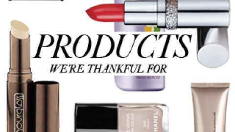 15 Beauty Products We're Thankful For | StyleCaster