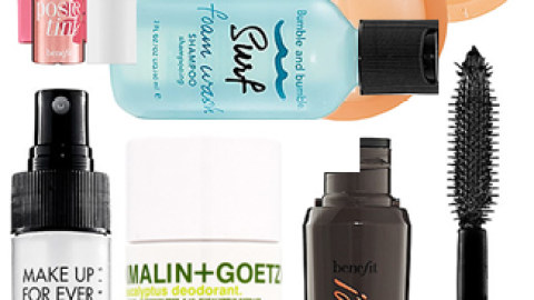 Tiny & Adorable Beauty Products For All Your Summer Getaways | StyleCaster