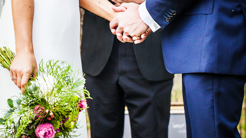 Why 5 Real Couples Chose Untraditional Wedding Officiants | StyleCaster