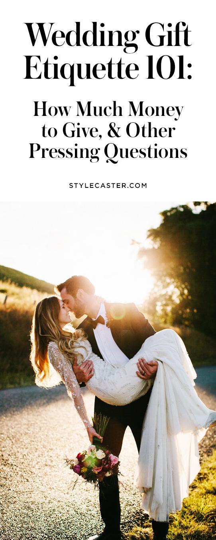 Wedding gift etiquette guide | @stylecaster
