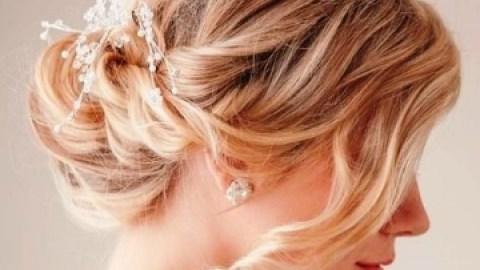 Perfect Wedding Styles for Medium-Length Hair   StyleCaster