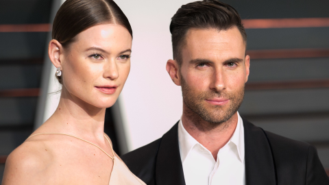Adam Levine Finds Pregnant Behati Prinsloo So Hot, He Had to Share a Topless Pic  | StyleCaster