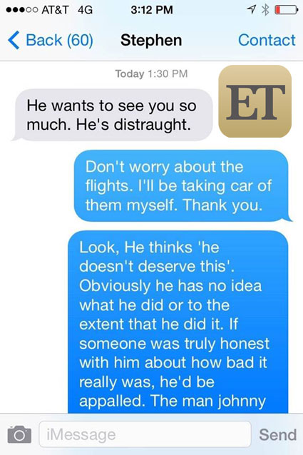 depp text 2 New Texts in the Amber Heard–Johnny Depp Saga Could Be Major