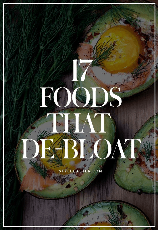 17 de-bloating foods to eat for a flat stomach   @stylecaster