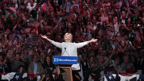Hillary Clinches Democratic Ticket! Celebrities React on Social Media   StyleCaster