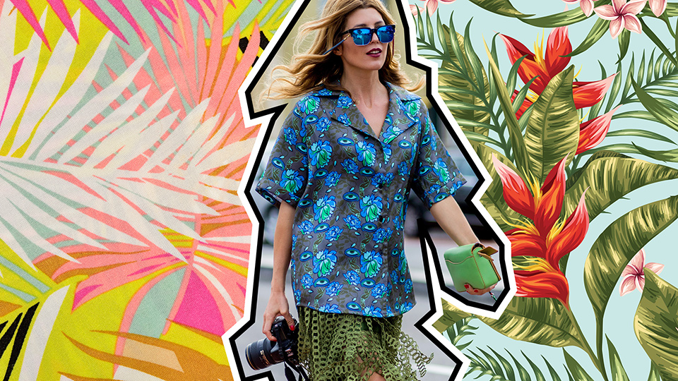 35 Ways to Wear Tropical Prints—Even if You're Not on Vacation