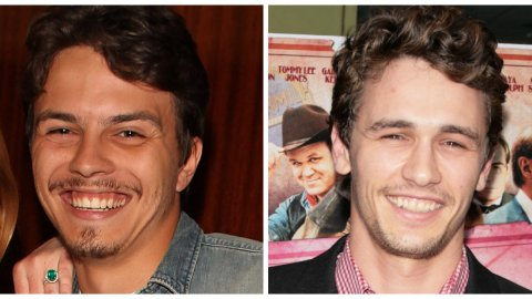 Wait, Am I the Only One Who Thinks Lilo's Fiancé and James Franco Are Twinning? | StyleCaster