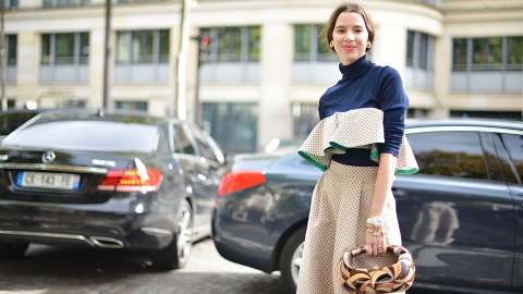 The Coolest Parisian Street Style Star You Haven't Heard of—Yet | StyleCaster