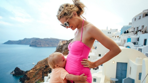 The Best Maternity Swimsuits to Bring Your Bump to the Beach | StyleCaster
