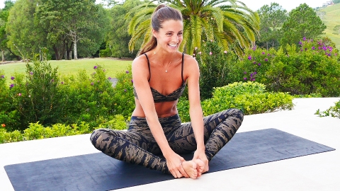Try This Four-Step Yoga Sequence Tonight for the Best Sleep of Your Life | StyleCaster