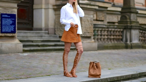 32 Ways to Pull Off High Gladiator Sandals This Summer | StyleCaster