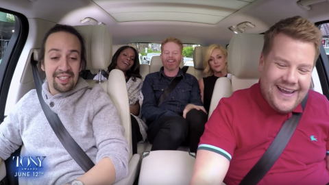 This Broadway Edition of Carpool Karaoke Is Everything | StyleCaster