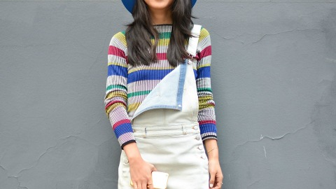 I Plan to Live in Shorts Overalls All Summer—and You Should Too  | StyleCaster