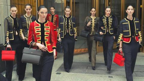 Meet the New Givenchy Girl Gang: Bella Hadid, Lily Aldridge, and More | StyleCaster