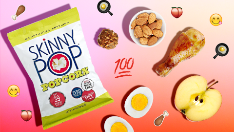 75 Not-Boring Snack Ideas Under 100 Calories | StyleCaster
