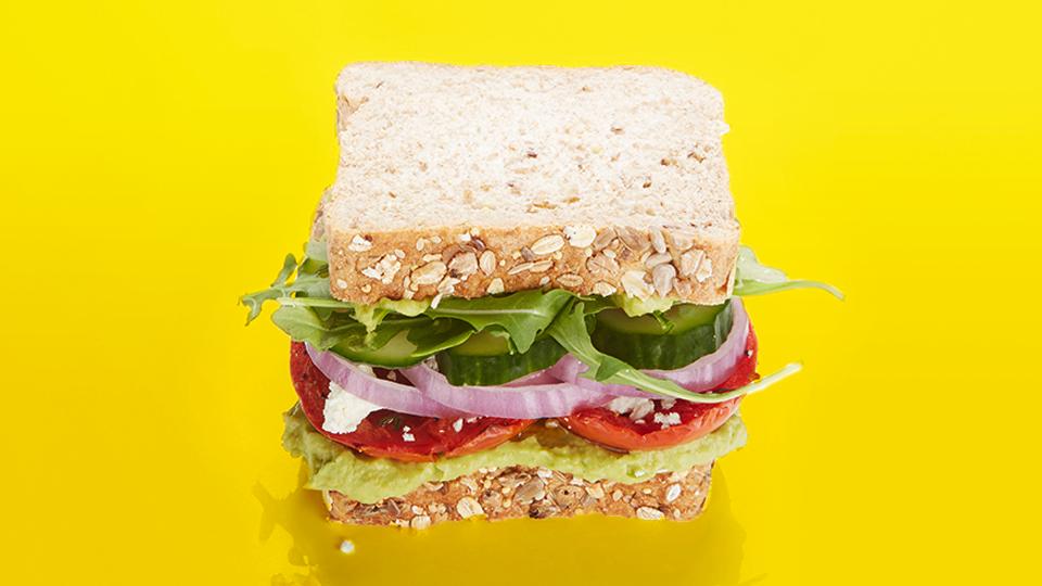 Stacked Mediterranean Sandwich