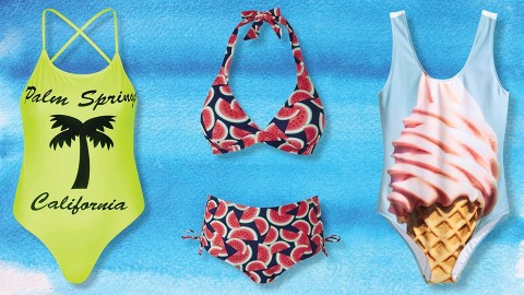25 Swimsuits You'd Never Guess Are Under $50 | StyleCaster