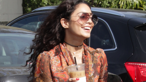 Vanessa Hudgens's Dreamcatcher Headpiece Is Not OK, According to the Internet | StyleCaster
