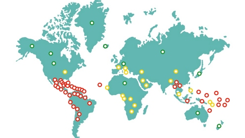 Exactly Where Zika Virus Is Across the Globe | StyleCaster