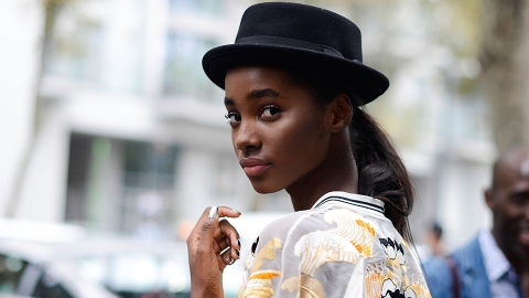 15 Street-Style-Approved Ways to Wear Your Hair with Hats This Summer | StyleCaster