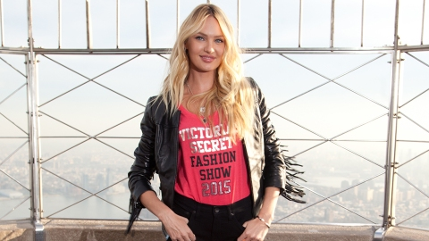 Candice Swanepoel Shares a Pregnancy Update Via a Nearly-Naked Instagram | StyleCaster