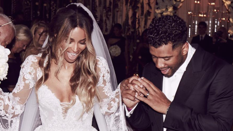 Here Are Ciara and Russell Wilson's Wedding Party Pics    StyleCaster