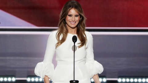 Melania Trump's RNC Speech Sounded Suspiciously Like One of Michelle Obama's | StyleCaster