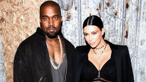 Kim and Kanye Cover 'Harper's Bazaar' Mid-Makeout | StyleCaster
