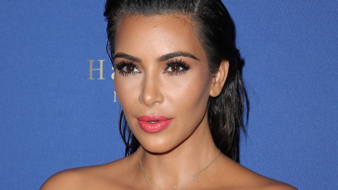 Stop Everything and Watch This Adorable—and Rare—Video of Kim K's Son | StyleCaster