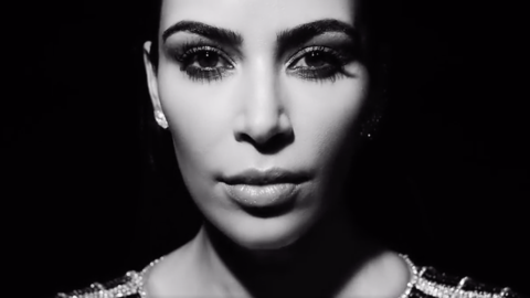 Kanye's New Music Video Stars Kim, Kylie, and Balmain | StyleCaster