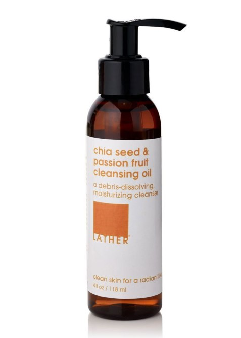 LATHER Chia Seed & Passion Fruit Cleansing Oil