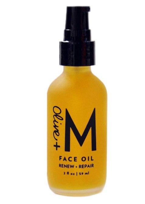 Olive + M All Natural Renew + Repair Face Oil