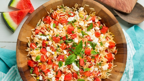 15 Better-Than-Average Orzo Salads to Try This Week | StyleCaster