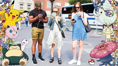 Observing New York City's Pokémon Go Players in the Wild | StyleCaster