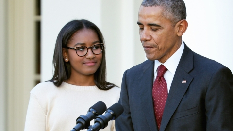 The Internet Is on a Hunt for Sasha Obama's Secret Twitter Account | StyleCaster