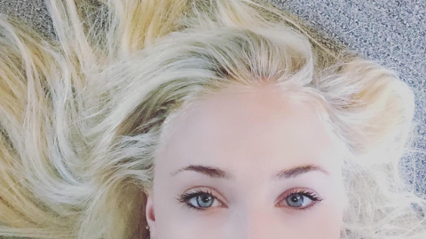 Holy Makeover Alert! This Actress Looks Totally Different with Bleached-Blonde Hair | StyleCaster