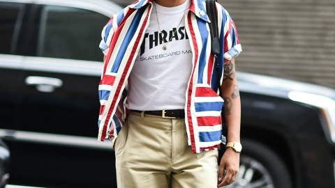 What All the Cool Kids Are Wearing to Men's Fashion Week | StyleCaster