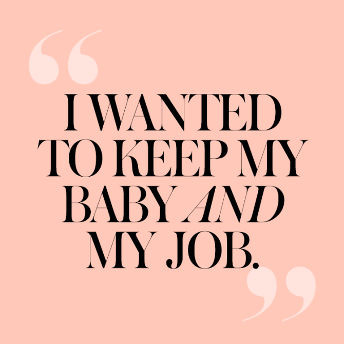 2 Why I Quit My Fancy Magazine Job to Be a Single Mom at Age 24