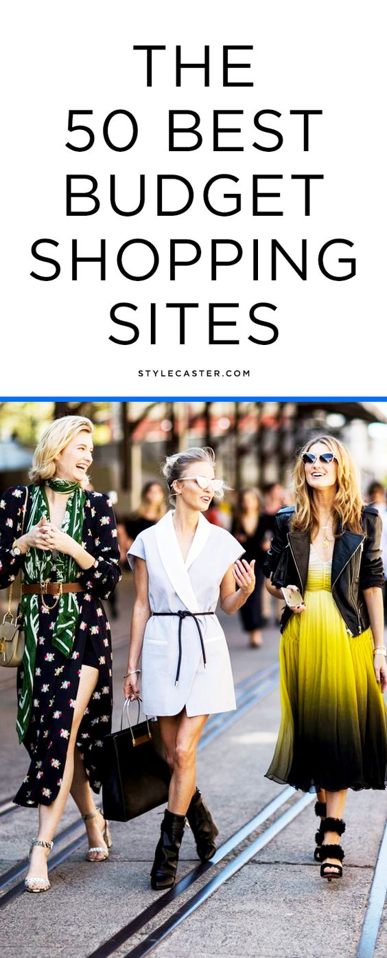 The 50 best budget shopping sites | @stylecaster
