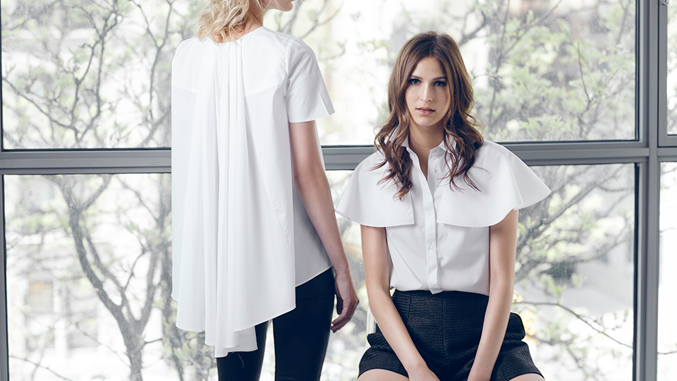 The New Capelet Top: The Ideal Piece to Wear When You're On the Fence About Sleeves