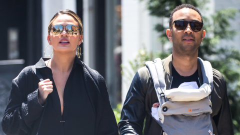 Monday Blues Cure: This New Vid of Chrissy and John's Baby | StyleCaster
