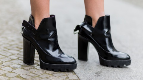 21 Pairs of Chunky-Heel Boots That May Actually Get You Pumped for Fall | StyleCaster
