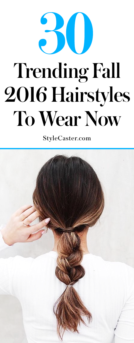 30 fall 2016 hairstyles to wear now | @stylecaster |fall hair ideas