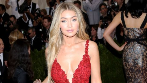 Gigi Hadid's New Red-Dipped Hair Is Everything | StyleCaster