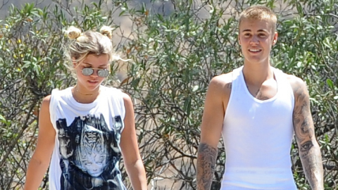 Sofia Richie Celebrates Her 18th B-Day with Bieber by Her Side | StyleCaster