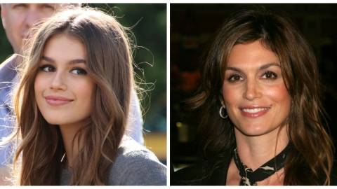 Whoa: Cindy Crawford's Daughter Looks *Just* Like Her on First Solo Mag Cover | StyleCaster