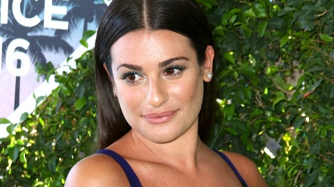 Lea Michele Poses Totally Nude, Reveals 'Finn' Tattoo | StyleCaster