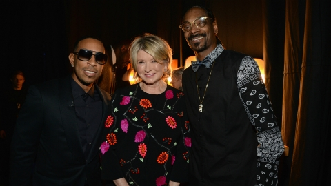 A Brief, Beautiful History of Martha Stewart Fraternizing with Rappers | StyleCaster