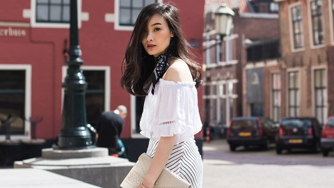 21 Ways to Wear a Scarf in the Summer and Not Look Insane | StyleCaster